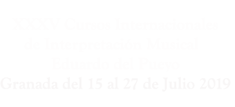 Cursos Interpretación Musical